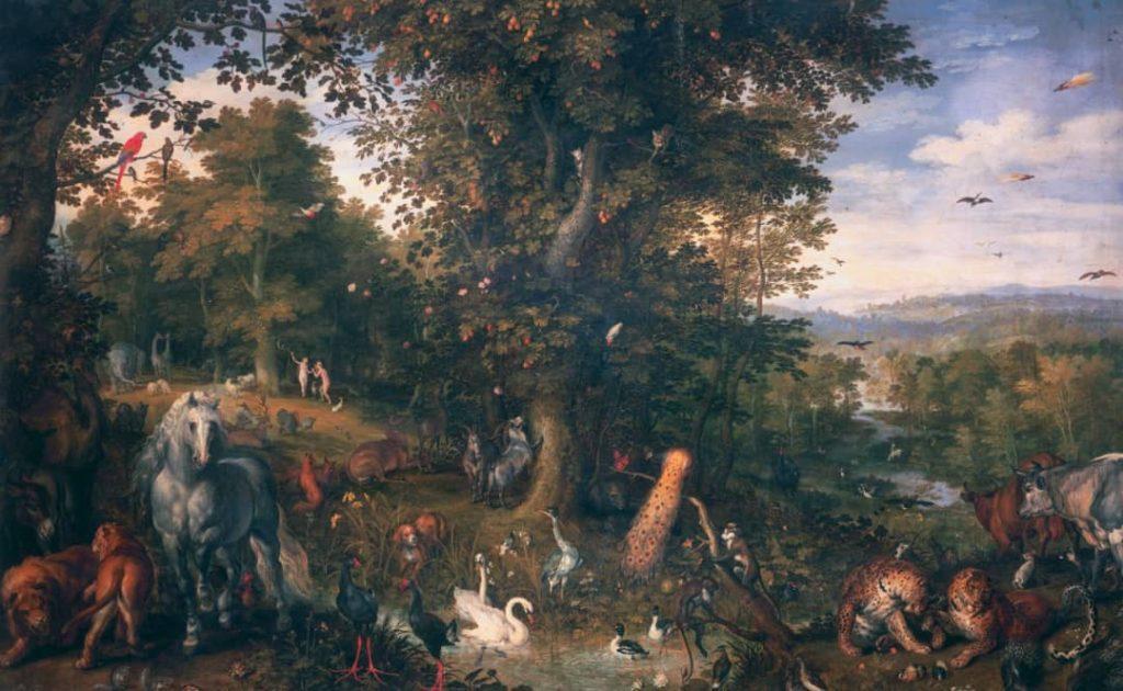 Jan Brueghe - Garden of Eden