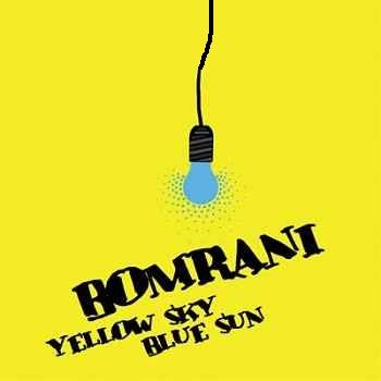 بمرانی اسمان زرد خورشید آبی