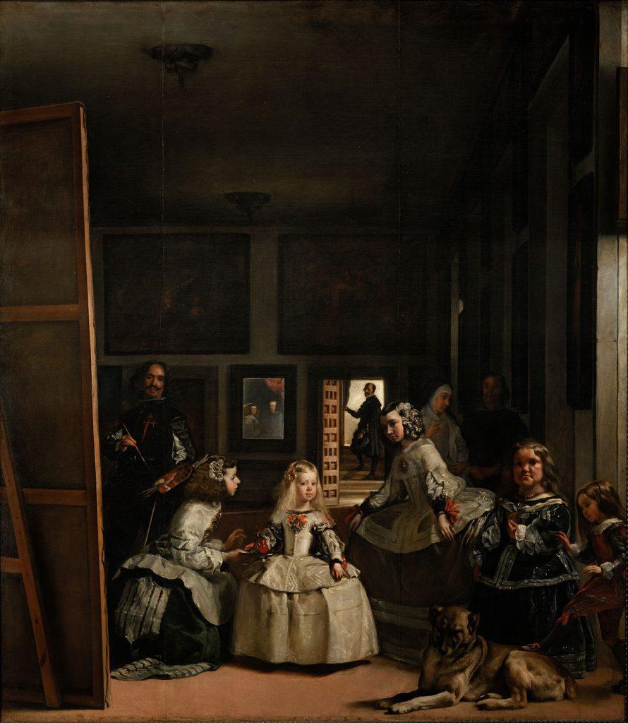 مشهورترین نقاشی های جهان 13 ندیمهها اثر دیهگو ولاسکوز