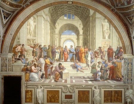 مشهورترین نقاشی های جهان 20 مکتب آتن اثر رافائل