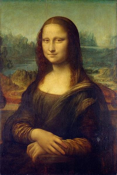 مشهورترین نقاشی های جهان 01 مونالیزا اثر لئوناردو داوینچی
