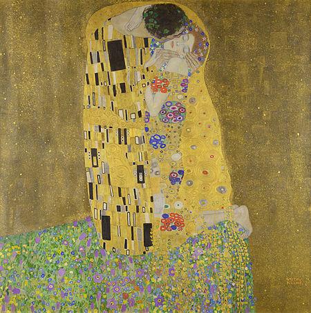 مشهورترین نقاشی های جهان 7 بوسه اثر گوستاو کلیمت