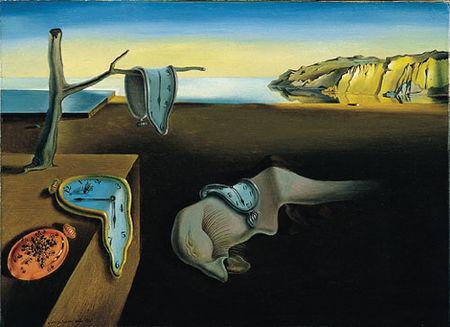 مشهورترین نقاشی های جهان 16 تداوم حافظه اثر سالوادور دالی