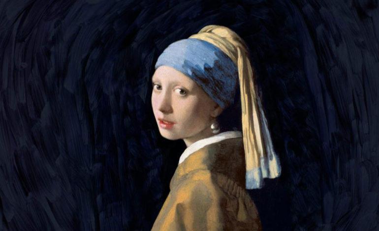 مشهورترین نقاشی های جهان 04 دختری با گوشوارهی مروارید اثر یوانس ورمیر
